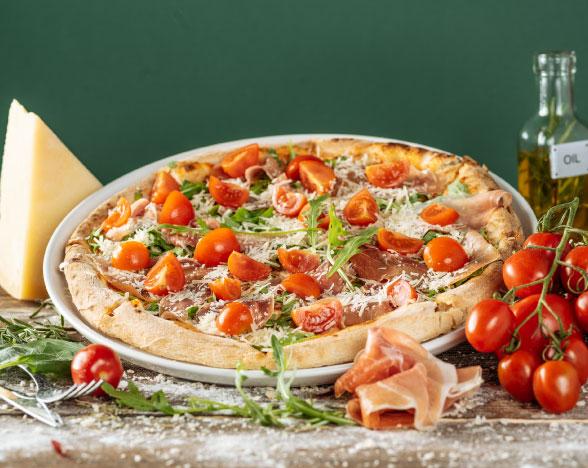 Pizza Prosciutto Crudo con Rucola